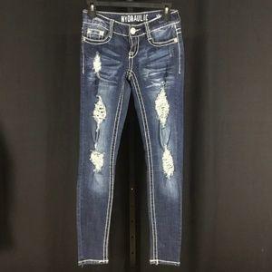 Hydraulic Vikki Legging Destroyed Jeans skinny 3-4